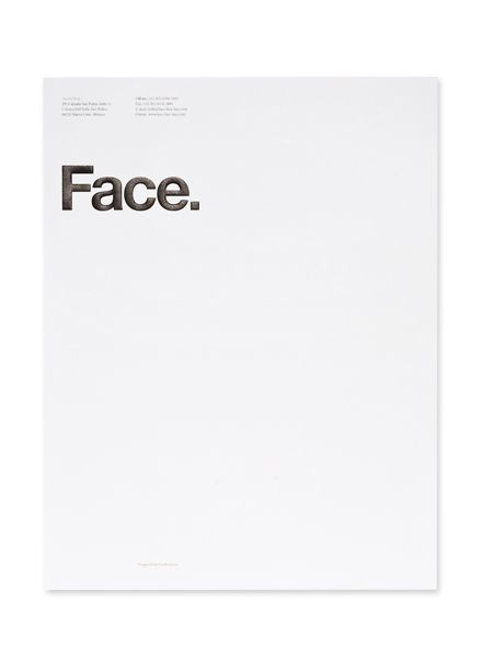 Face letterhead Design Pinterest Face, Layouts and Typography - company letterhead template
