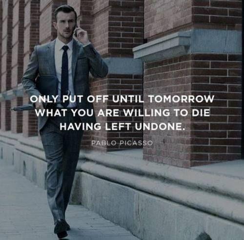 Procrastination Quotes - Quotation Inspiration