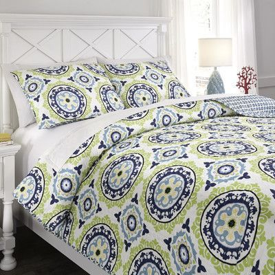 Signature Design by Ashley Danesha Coverlet Set Size: