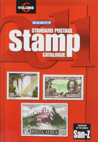 Scott 2011 Standard Postage Stamp Catalogue Vol 6 Countries Of The World San Z Almost 15 000 Value C Stamp Catalogue Postage Stamps Free Ebooks Download