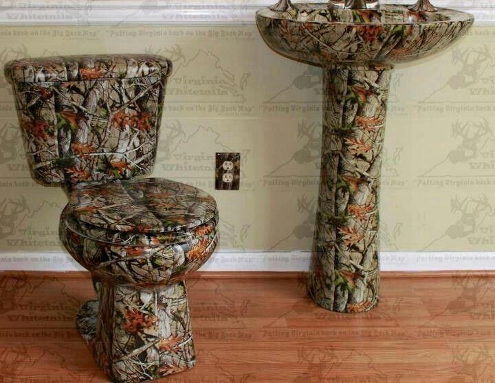 camo toilet and sink | Ka\'mere Deer | Pinterest | Camo, Toilet and ...