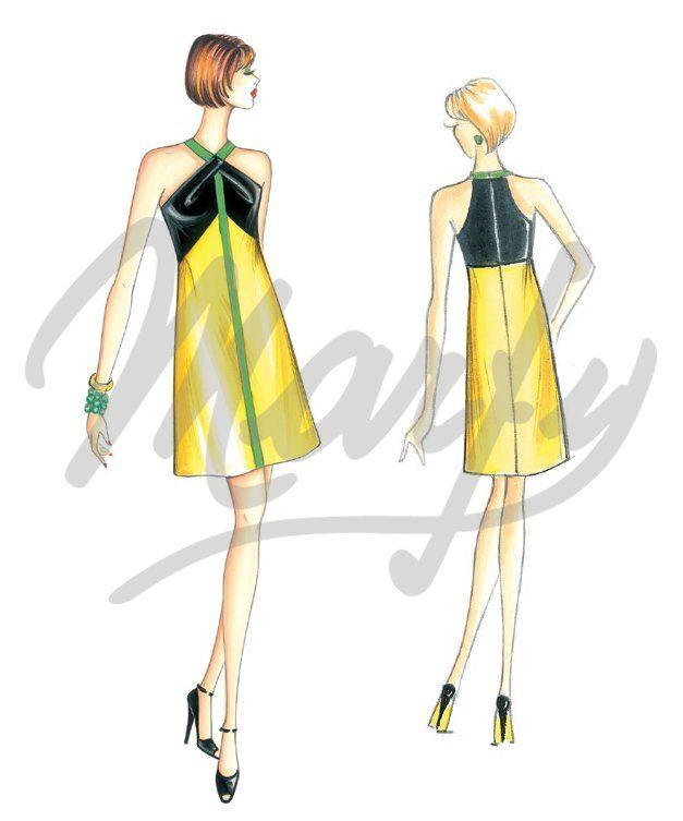 Cartamodelli pdf | marfy | Pinterest