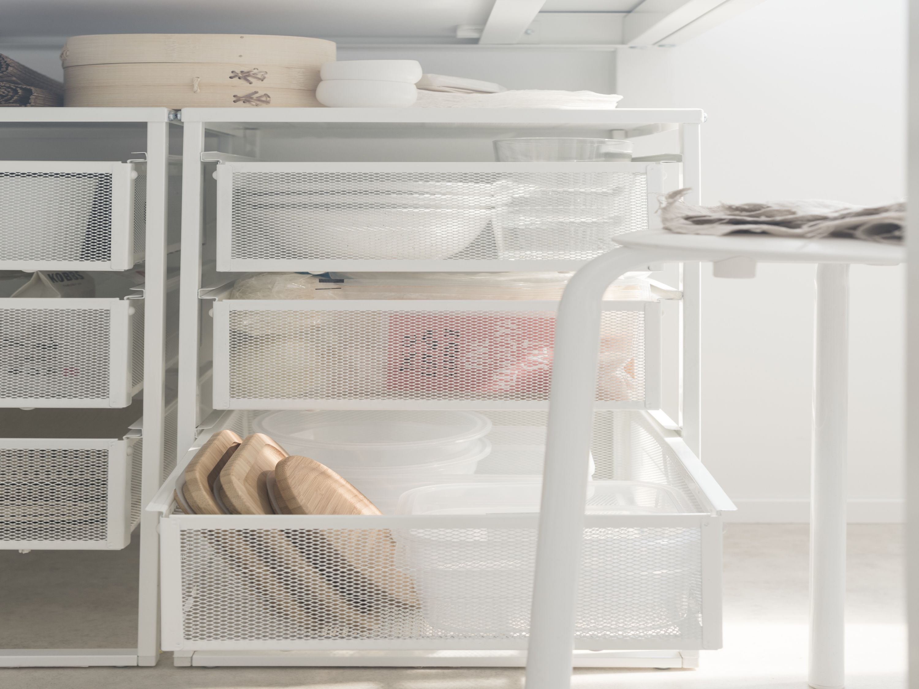 Dishes And Cosmetics And Mail Oh My The Lennart Drawer Unit Lets You Store Whatever You Need To Store Easily Record Storage Bathroom Etagere Ceiling Storage