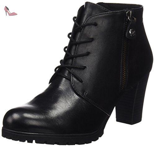 Caprice 40 25200 black Noir Femme Bottes Chaussures Eu Nappa wxPZqUAFw