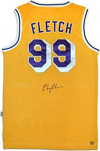 cb0c26c23 Fletch Los Angeles Lakers Authentic Jerseys