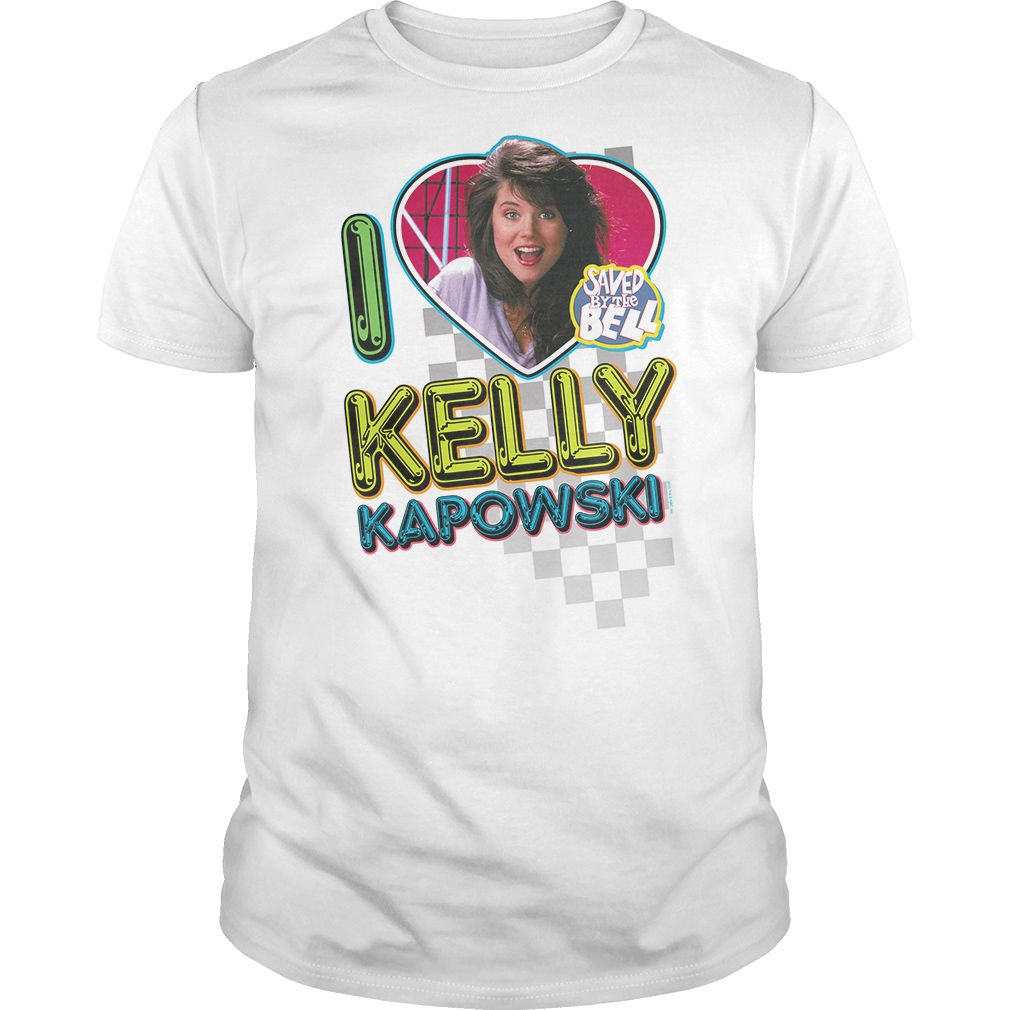 Design your own t-shirt and save it - Saved By The Bell I Love Kelly Funny Sweatshirt Sweatshirt Cardigan Buy Today And Save Top Tshirt