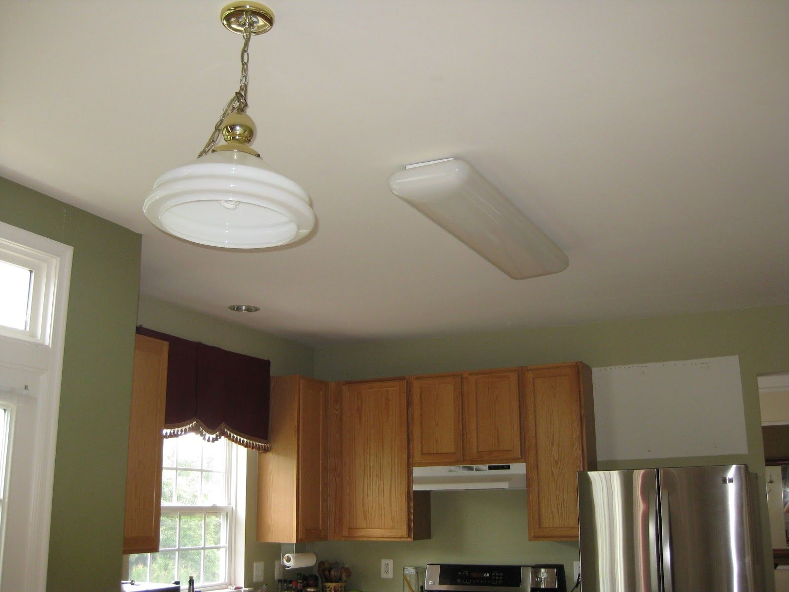 Circular Fluorescent Kitchen Light Fixtures Recessed Lighting Costtrack