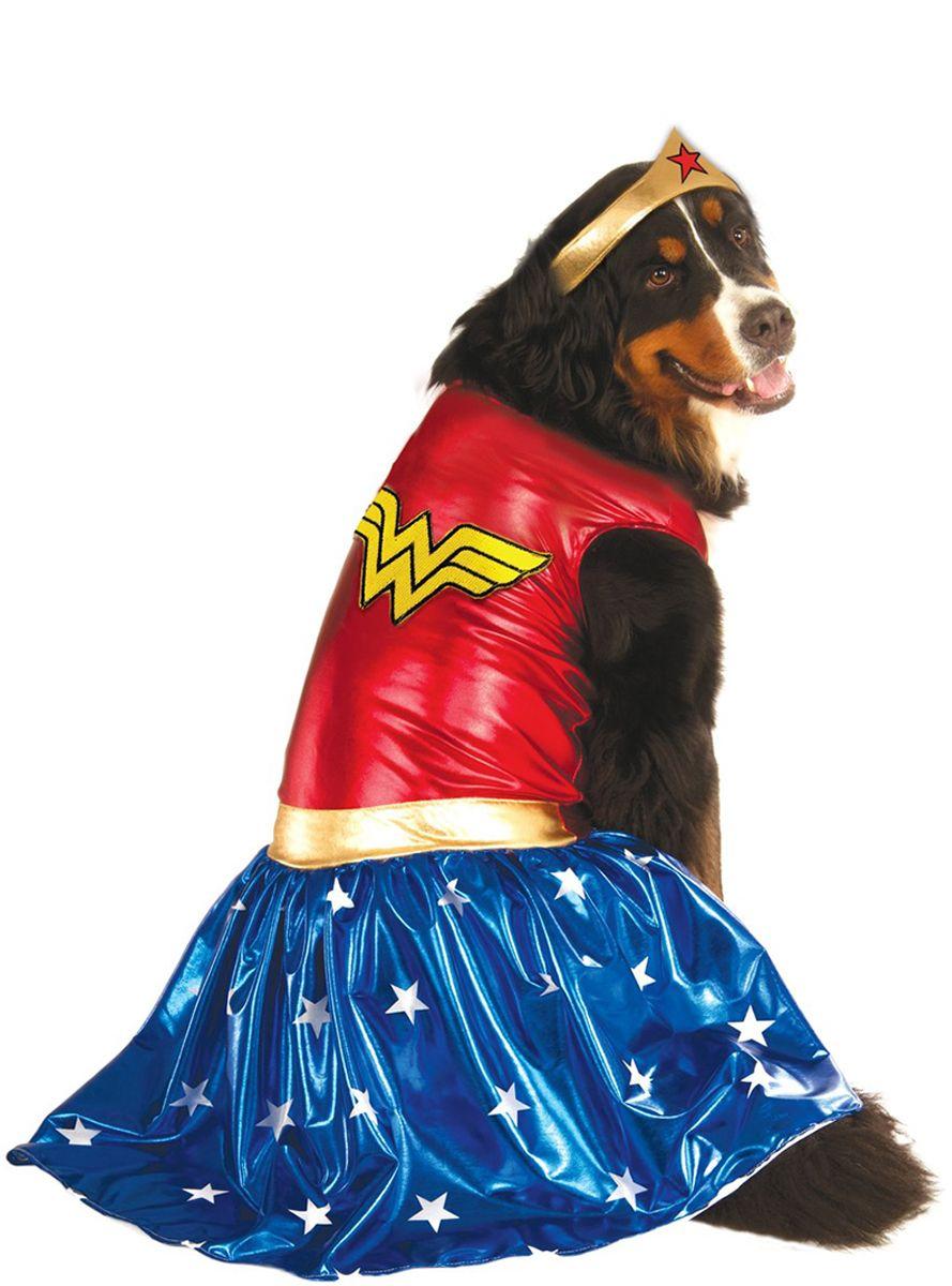 Disfraz de Wonder Woman para perro talla grande Grootste
