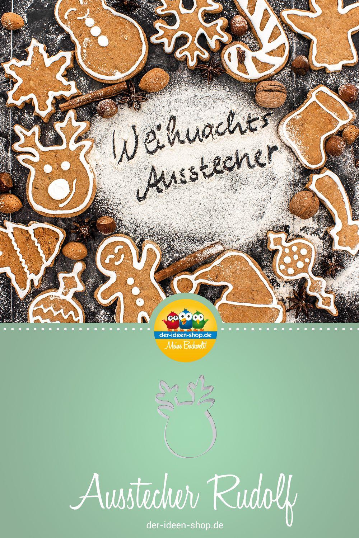 1 Keksausstecher Rentier Rudolf Torten Rezepte Torten Verzieren