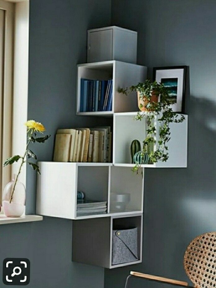 Small Corner Adequate Storage Interiorgang Small Corner Just Enough Storage In 2020 Hausmobel Haus Deko Ikea Ideen