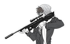 Image Result For Sniper Boy Anime Ilustrasi Karakter Animasi Ilustrasi Manga