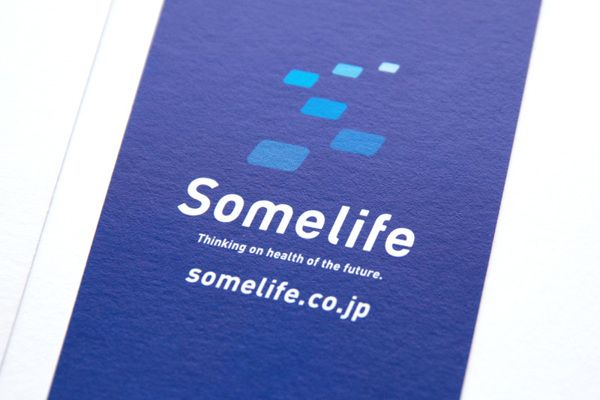 Somelife_Business Card Design by masaomi fujita, via Behance