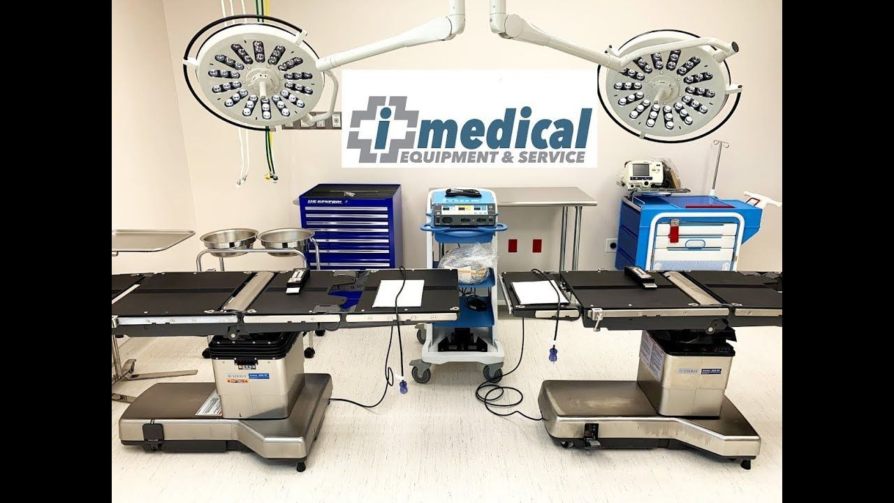 Steris Amsco 3080 SP and 3085 SP Surgical Tables Medical