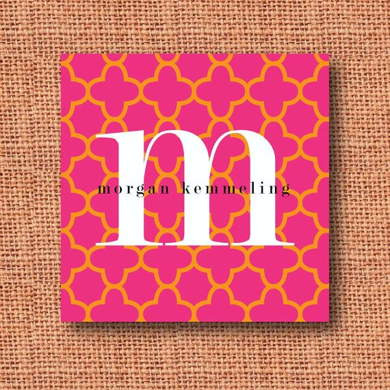 Monogrammed Calling Cards, Gift Tags, Enclosure Cards, Hang Tags