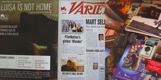 """""""Luisa no está en casa"""" (Luisa is not home) @ Variety Venice edition"""