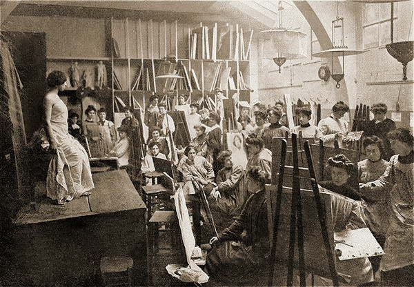 Academie Julian   Beaux arts, Art, Art féminin