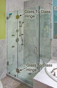 Pivot Shower Door Cost Comparison Glass Hinges Shower Doors Shower