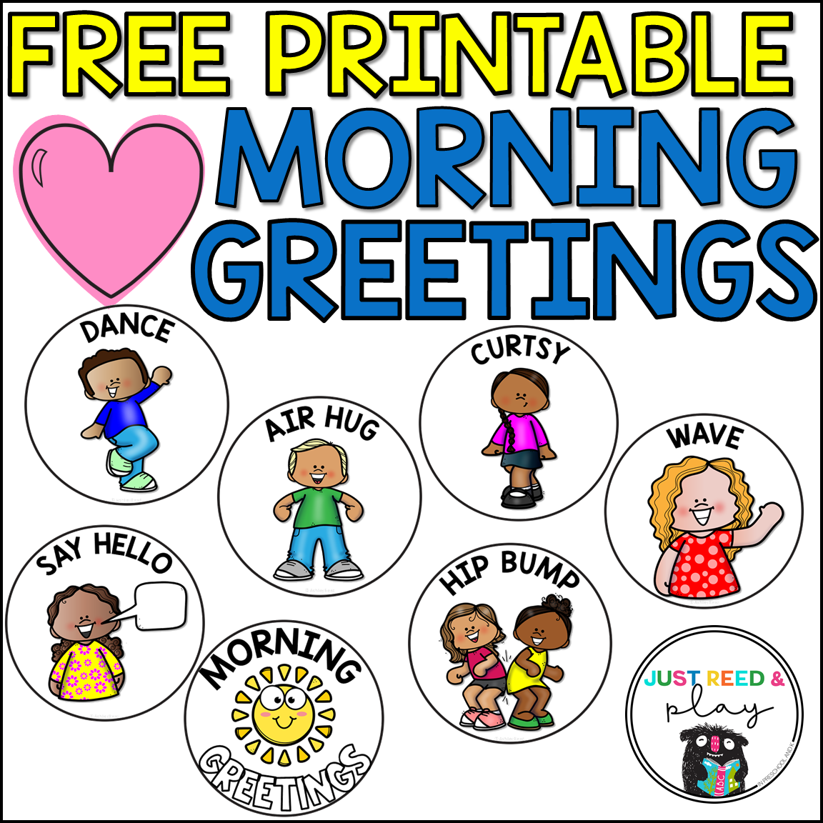 Fun Morning Greeting Ideas for the Classroom | Morning