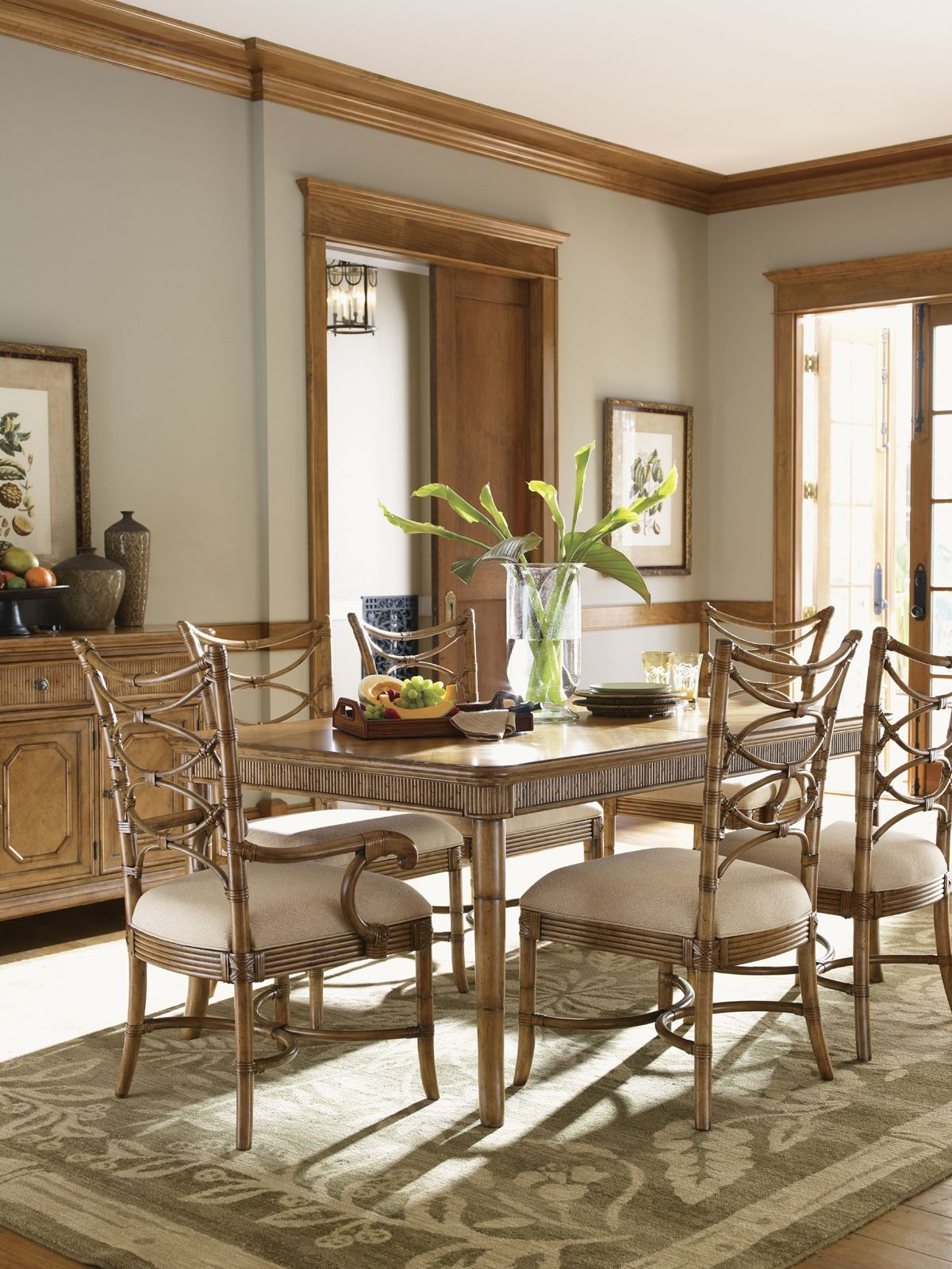 Tommy Bahama Beach House Dining Room Set