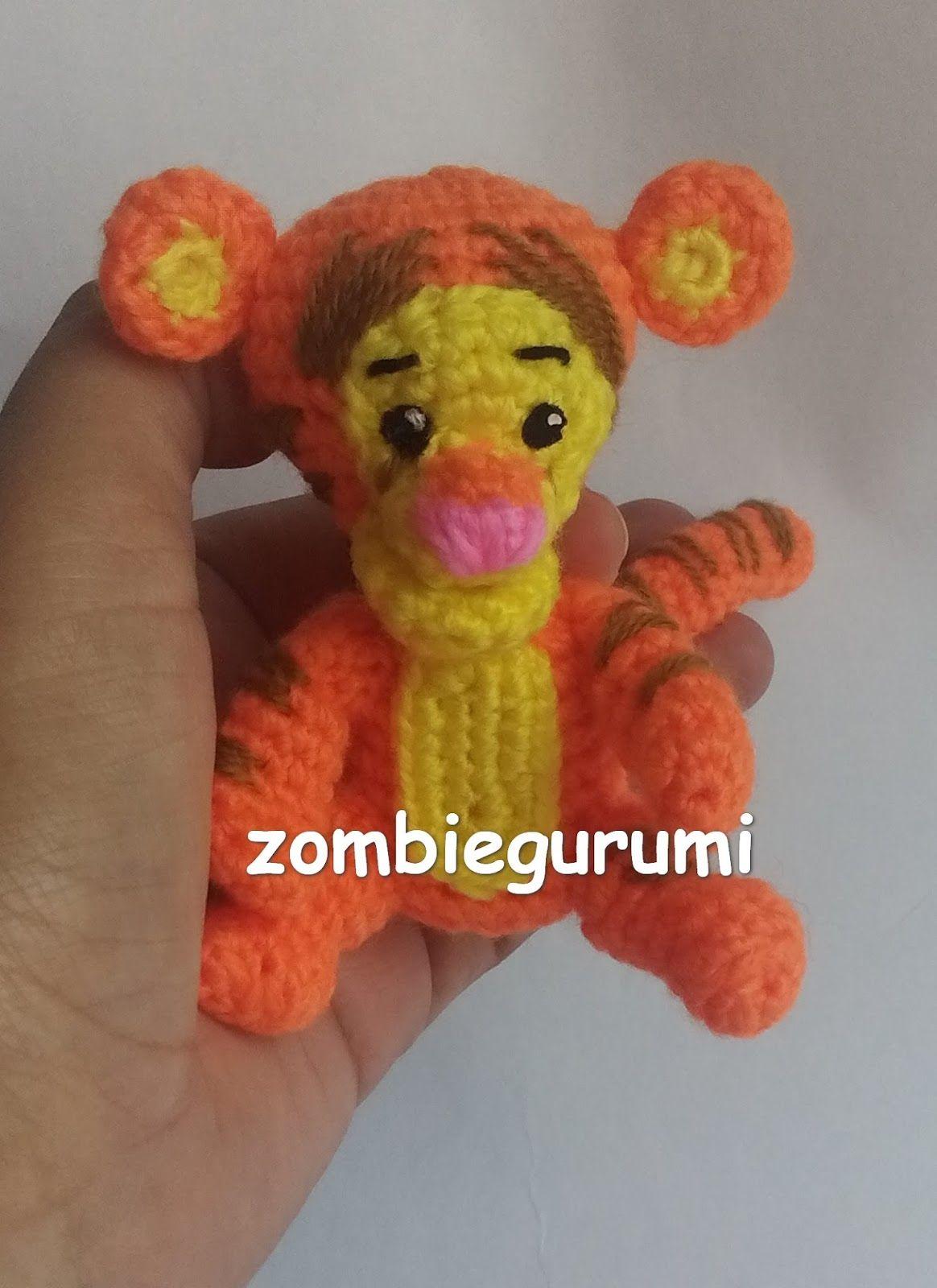 patron gratis tiger amigurumi | tejido a crochet | Pinterest ...