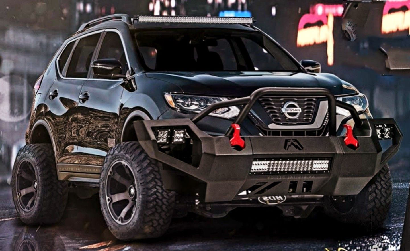 2017 Nissan Rogue STARWARS SE Custom (With images