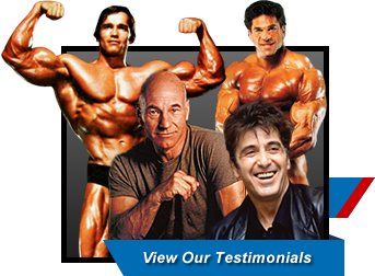 National Gym Association - Celebrity Testimonials