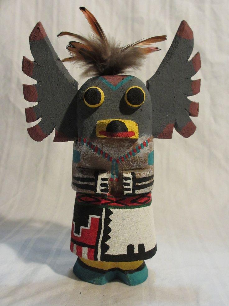 Hopi kachinas hopi indian owl kachina doll by pooley