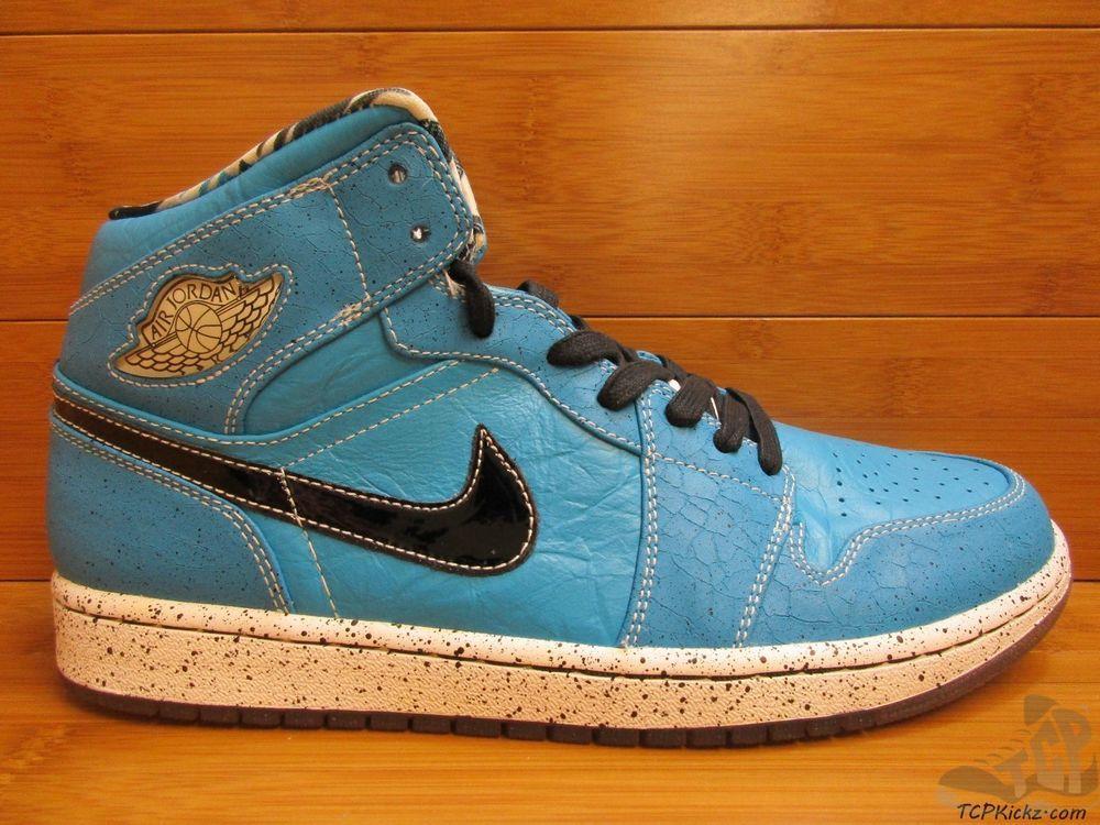 newest ff7c4 7b21c Nike Air Jordan I 1 s sz 9 Quai 54 Retro Ruff N Tuff Mid Laser Blue 2009 DS   Jordan  AthleticSneakers  tcpkickz