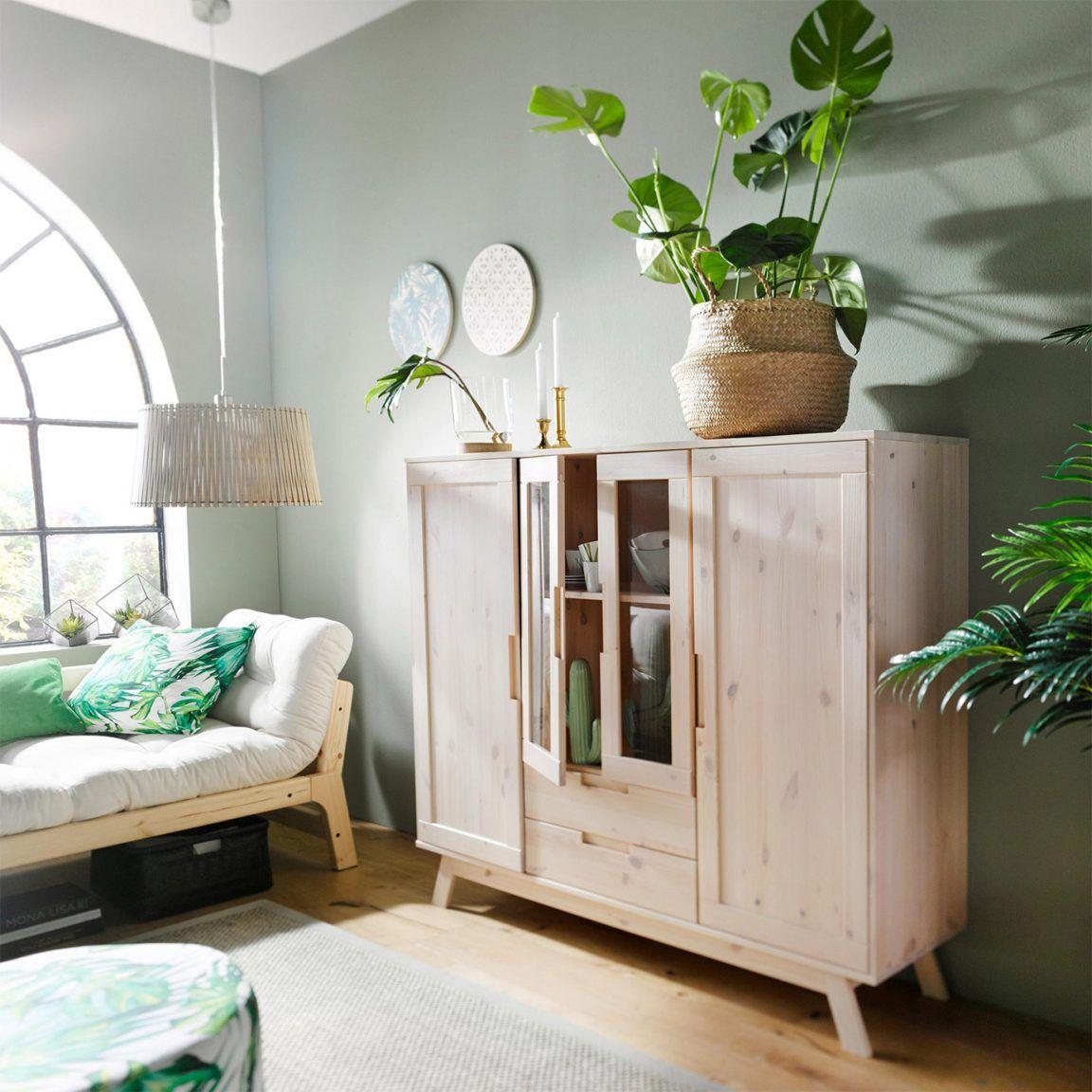 Wandfarbe im Wohnzimmer » Farbtrends &  kombinationen   OTTO Minimalist