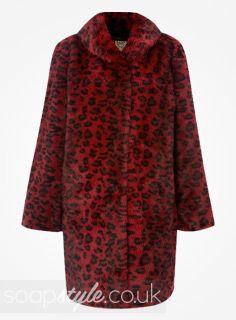 fe0e21e02d96 Found: Kat Slater's Faux Fur Coat worn in EastEnders [✚Click photo for info]