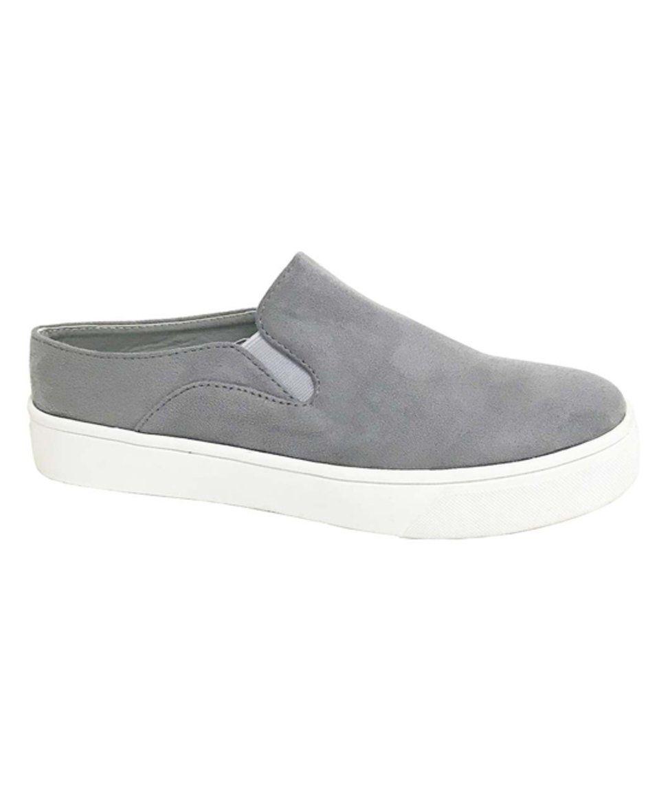 Take A Look At This Elite Footwear Gray Savana Slip On