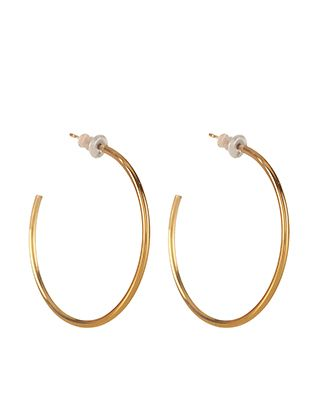 Medium Gold Hoops | Gold | Accessorize