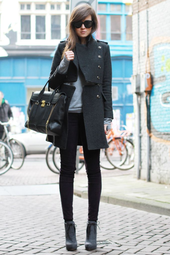 City fall look, perfection!