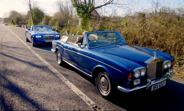 Watched the #rollsroyce battle on #topgear this weekend. Most people preferred the smell of the classic Rolls. Bring the #leathersmell to your car new or old with COLOURLOCK Leather Essence.  Get it on www.colourlock.com