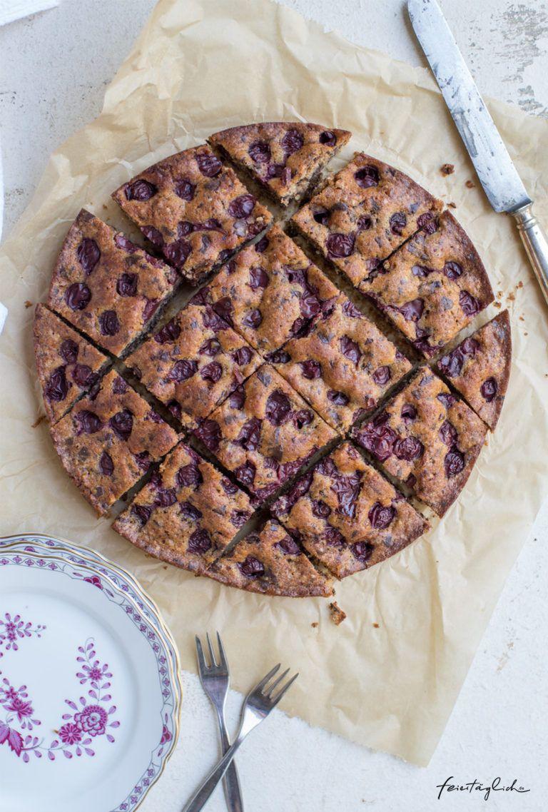 Pin Von Mary Voss Auf Rezepte In 2020 Versunkener Kirschkuchen Kirschkuchen Dinkel Kuchen