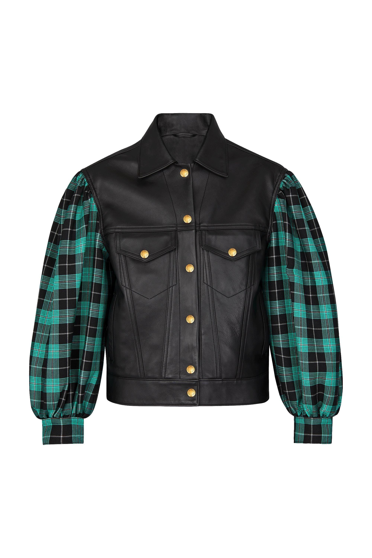Leather Jacket ReadytoWear LOUIS VUITTON Leather