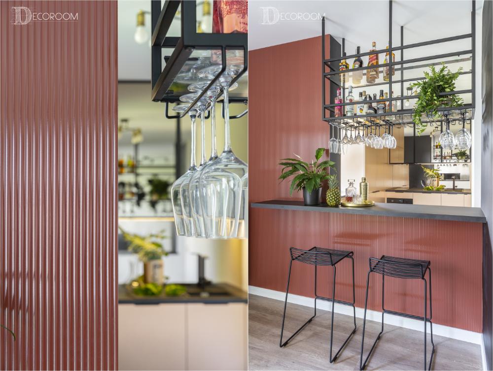 Decoroom Blog Barek W Salonie Mieszkanie W Klubowym Klimacie Home Decor Decor Room Divider