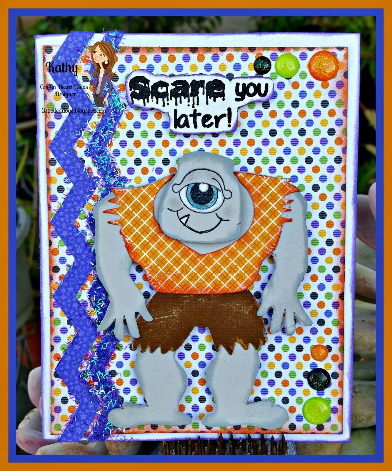 CDD Stamps Ghostly Greetings, Kadoodle Bug Designs, Peachy Keen Stamps, Doodlebug