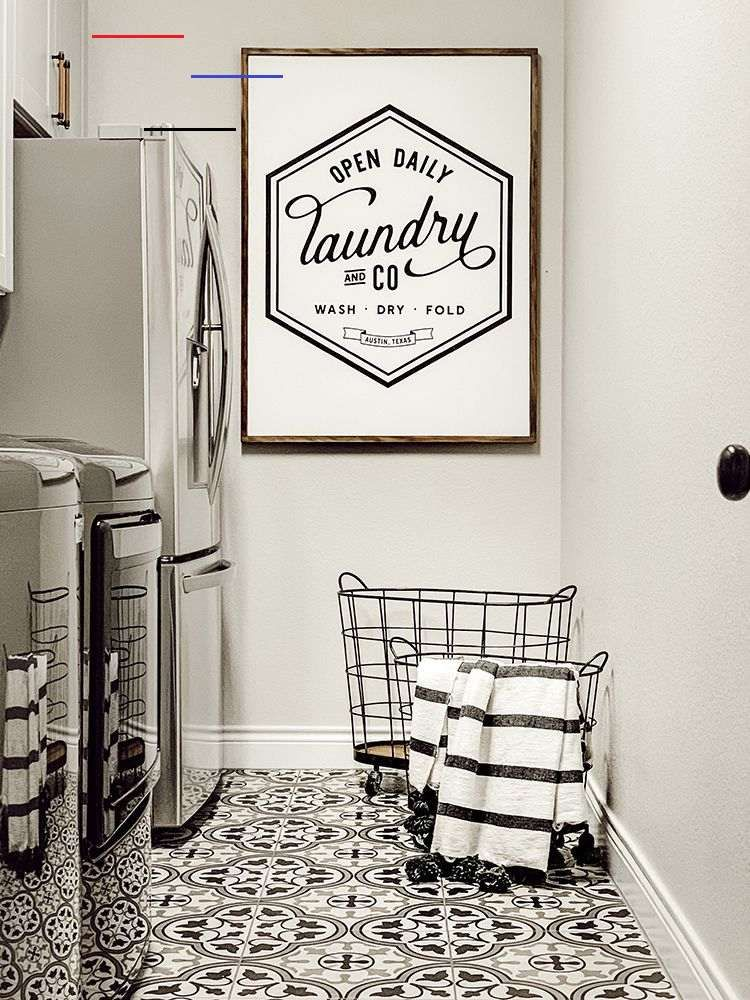 A Faux Farmhouse Laundry Room The Home Depot Blog