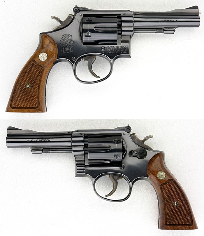 22 magnum revolvers | ... & WESSON S&W MODEL 48-3 -- K-22 MRF ...
