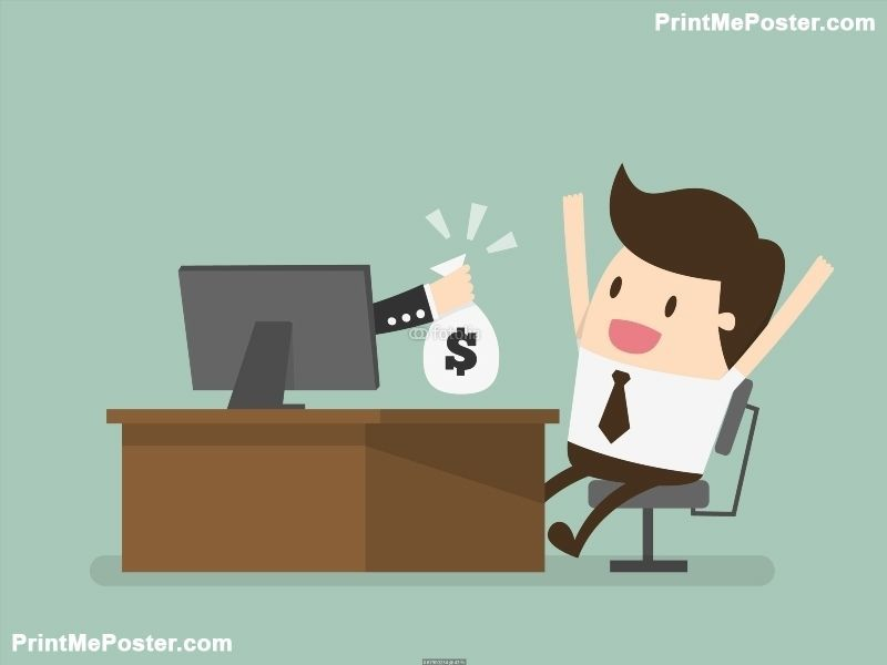 Poster Of Online Business Making Money Online The Internet