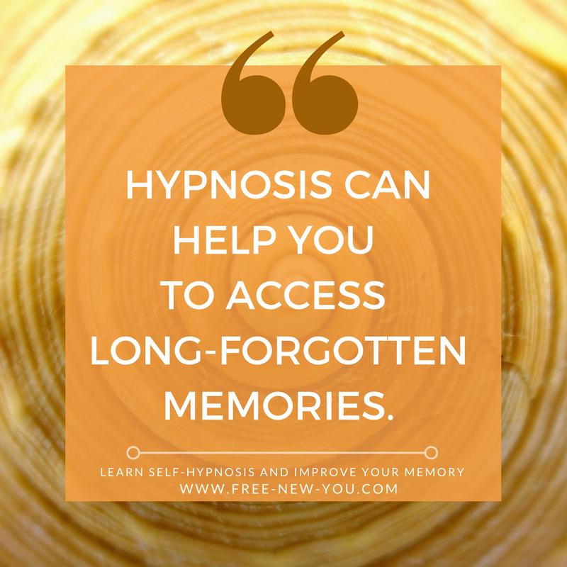 How To Retrieve Memories With Self Hypnosis Free New You Com Hypnosis Subconscious Mind Power Memories