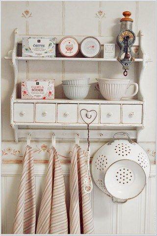 Shabby Chic selber machen Der Romantik-Look für Zuhause Shabby - küche landhaus weiß