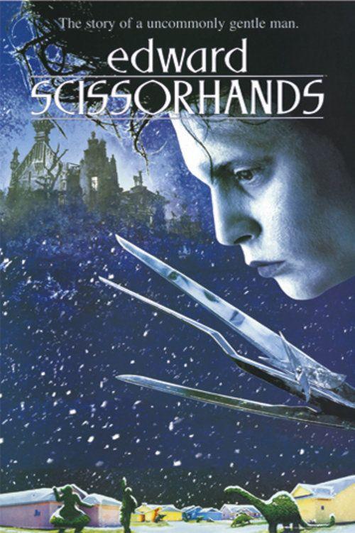 Edward Scissorhands Poster Edward Scissorhands Movie Romantic