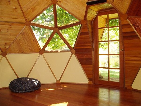 timber geodesic dome house Architecture Pinterest Intérieur