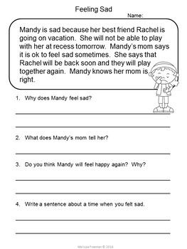 Reading Comprehension Passages For Second Grade 2 Reading Comprehension Worksheets Essay Writing Skills Comprehension Worksheets