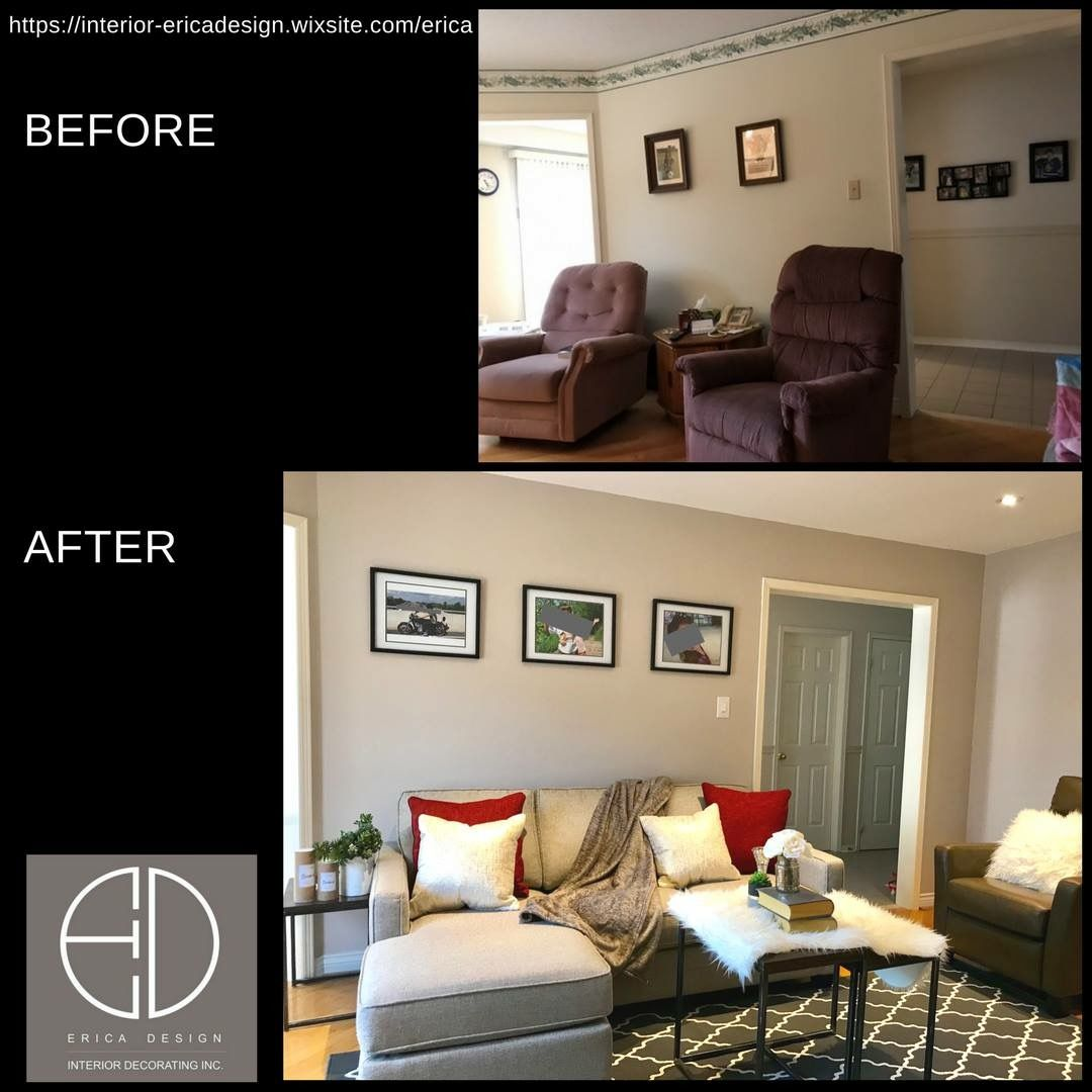 Home Staging Gallery: Family Room Image By ERICA DESIGN INTERIOR DECORATI On