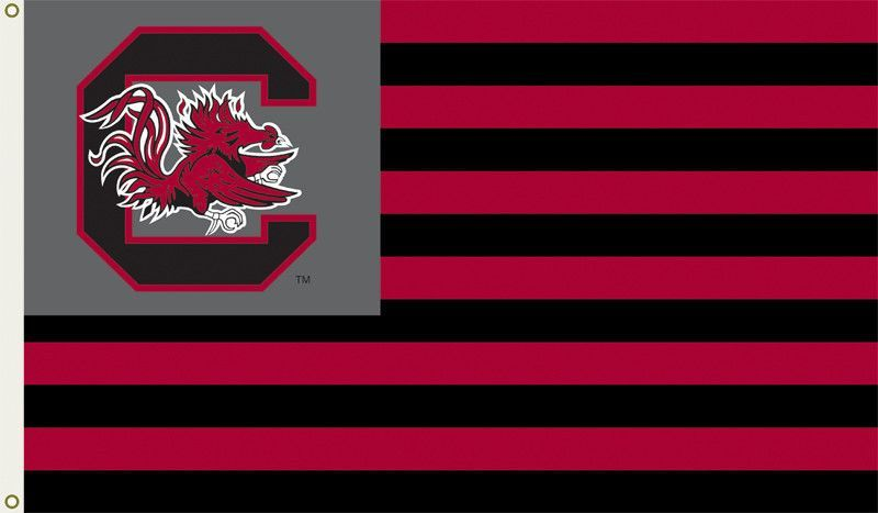 South Carolina Gamecocks 3 Ft. X 5 Ft. Flag W/Grommets