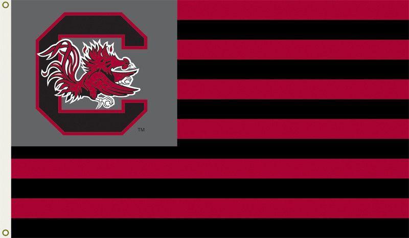 South Carolina Gamecocks 3 Ft. X 5 Ft. Flag W/Grommets