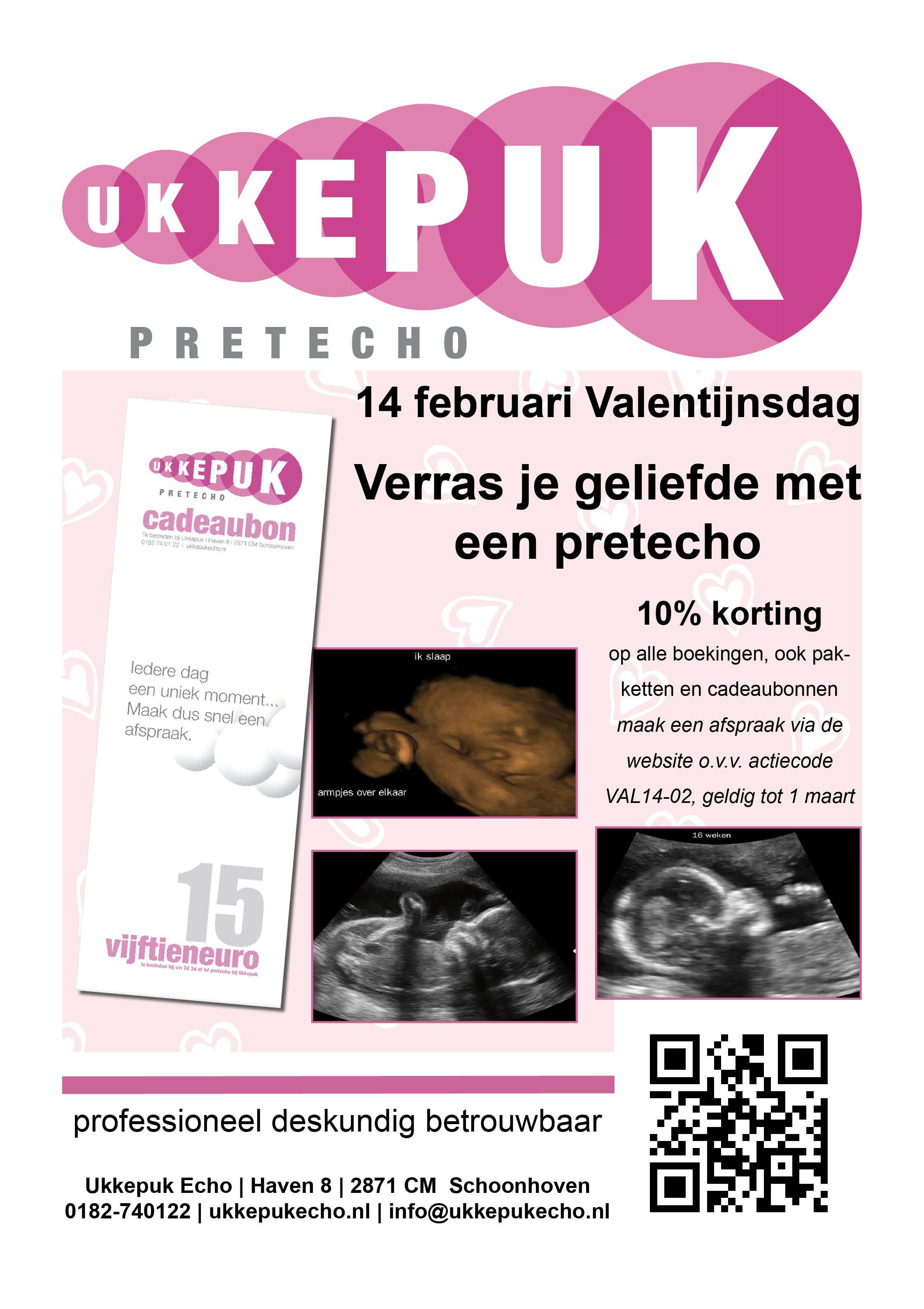 Stoepbord Ukkepuk Echo, Schoonhoven   Valentijnsdag, februari 2015